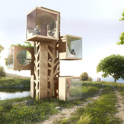 Portable Reading Rooms - The Tree of Knowledge