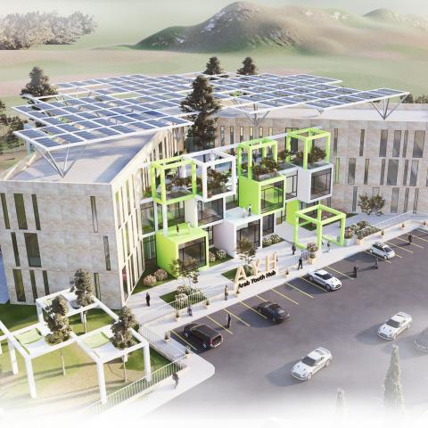 Amman Youth Hub - Arab Youth Center - Innovative Design